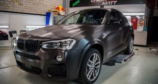BMW X4 F26 Brushed Black Folierung Tuning 1 310x165 BMW X4 F26 mit Brushed Black Folierung by Check Matt Dortmund
