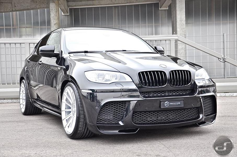 perfect - bmw x6 e71 on hamann anniversary evo ii wheels