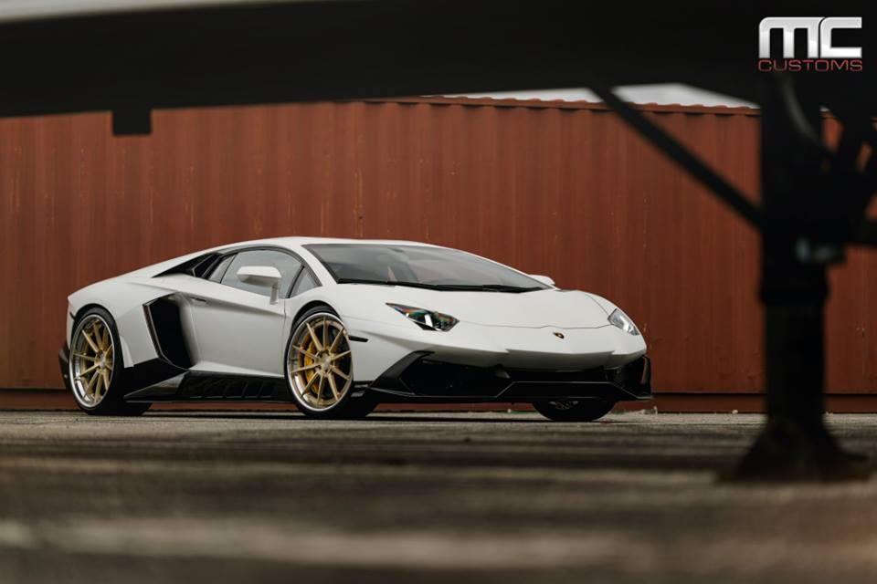 Bodykit Lamborghini Aventador AG Wheels Tuning 10 MC Customs Lamborghini Aventador auf schicken AG Wheels