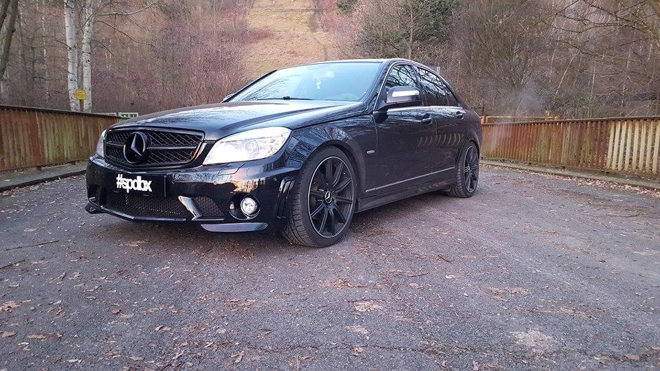 C63 AMG Optik Mercedes W204 Tuning 2 C63 AMG Optik am Mercedes W204 by Speed Box GmbH