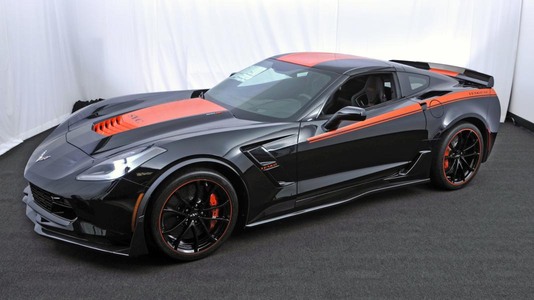 Chevrolet Corvette C7 Z06 Tuning Yenko 1 Chevrolet Corvette C7 Z06 mit 800PS by Specialty Vehicle Engineering (SVE)