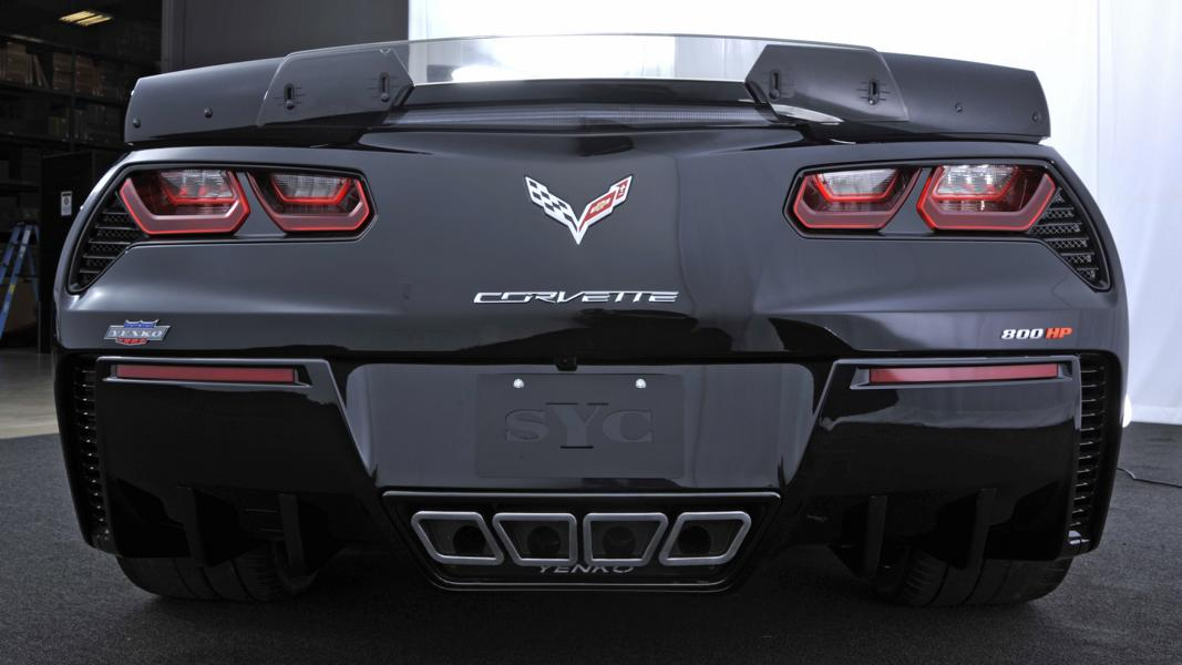 Chevrolet Corvette C7 Z06 Tuning Yenko 3 Chevrolet Corvette C7 Z06 mit 800PS by Specialty Vehicle Engineering (SVE)