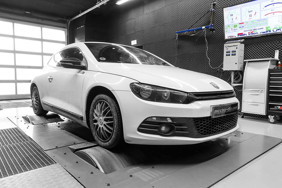 Chiptuning VW Scirocco 1.4 TSI CAXA 5 147PS / 257Nm mittels Chiptuning im VW Scirocco 1.4 TSI