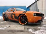Dodge Challenger Folierung rundum orange schwarz Tuning 10 155x116 Dodge Challenger SRT in Orange/Schwarz by BB Folien Bele Boštjan