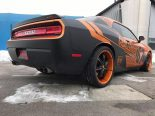 Dodge Challenger Folierung rundum orange schwarz Tuning 14 155x116 Dodge Challenger SRT in Orange/Schwarz by BB Folien Bele Boštjan