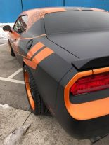 Dodge Challenger Folierung rundum orange schwarz Tuning 24 155x207 Dodge Challenger SRT in Orange/Schwarz by BB Folien Bele Boštjan