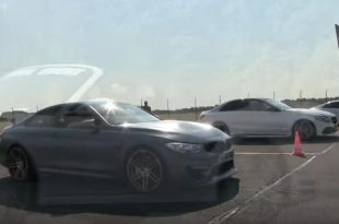 Dragrace BMW M4 GTS vs. C7 C63 AMG M5 Co. 310x205 Video: Dragrace   BMW M4 GTS vs. C7, C63 AMG, M5 & Co.