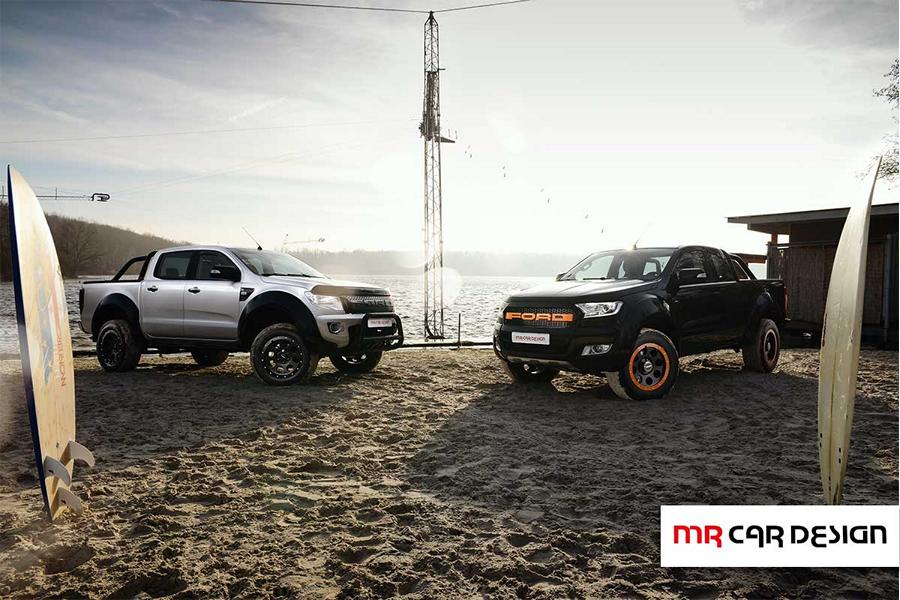 Ford Ranger delta4x4 Parts Tuning 2 Extrem bullig   Ford Ranger Twins vom Tuner MC Car Design