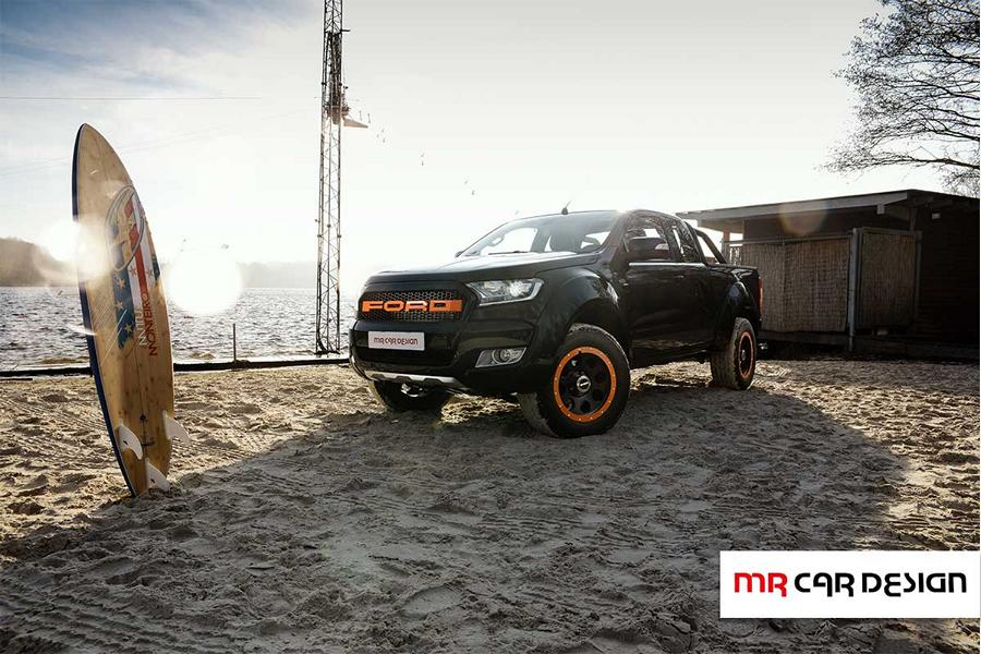 Ford Ranger delta4x4 Parts Tuning 6 Extrem bullig   Ford Ranger Twins vom Tuner MC Car Design