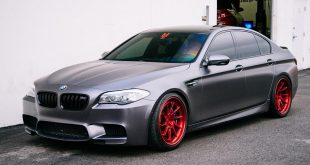 Frozen Grey BMW F10 M5 ADV1 Wheels Tuning 4 310x165 Sakhir Orange lackiertes BMW M4 F82 Coupe vom Tuner EAS
