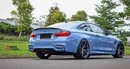 HRE P101 Satin Charcoal Tuning BMW M4 F82 Coupe 3 190x101 HRE P101 Alu's in Satin Charcoal am BMW M4 F82 Coupe