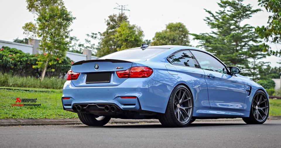 HRE P101 Satin Charcoal Tuning BMW M4 F82 Coupe 3 HRE P101 Alu's in Satin Charcoal am BMW M4 F82 Coupe