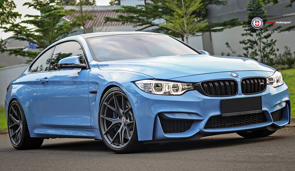 HRE P101 Satin Charcoal Tuning BMW M4 F82 Coupe 4 HRE P101 Alu's in Satin Charcoal am BMW M4 F82 Coupe