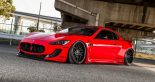 Liberty Walk Maserati GranTurismo Widebody Airrex Forgiato Tuning 8 155x82 Umgesetzt Liberty Walk Maserati GranTurismo Widebody