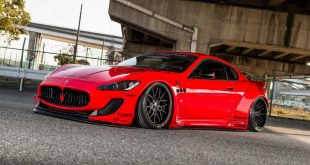 Liberty Walk Maserati GranTurismo Widebody Airrex Forgiato Tuning 8 310x165 Umgesetzt   Liberty Walk Maserati GranTurismo Widebody