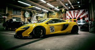 Liberty Walk Widebody McLaren 650S Tuning 1 310x165 Fotostory: Knallgelb   Liberty Walk Widebody McLaren 650S