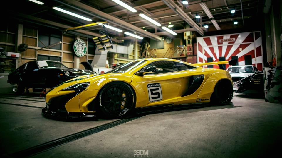 Liberty Walk Widebody McLaren 650S Tuning 1 Fotostory: Knallgelb   Liberty Walk Widebody McLaren 650S