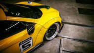 Liberty Walk Widebody McLaren 650S Tuning 4 190x107 Fotostory: Knallgelb   Liberty Walk Widebody McLaren 650S