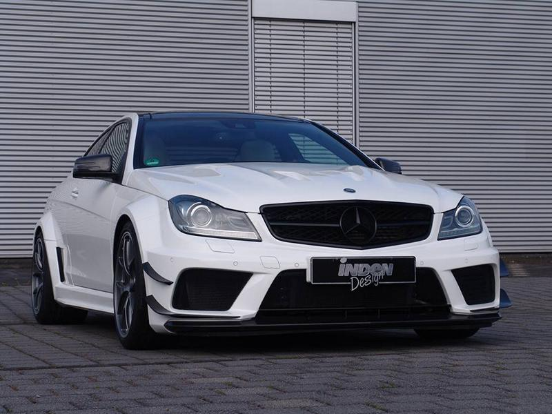 Mercedes Benz C 63 AMG W204 Black Series Tuning 2 Perfekt   Mercedes Benz C 63 AMG W204 von Inden Design
