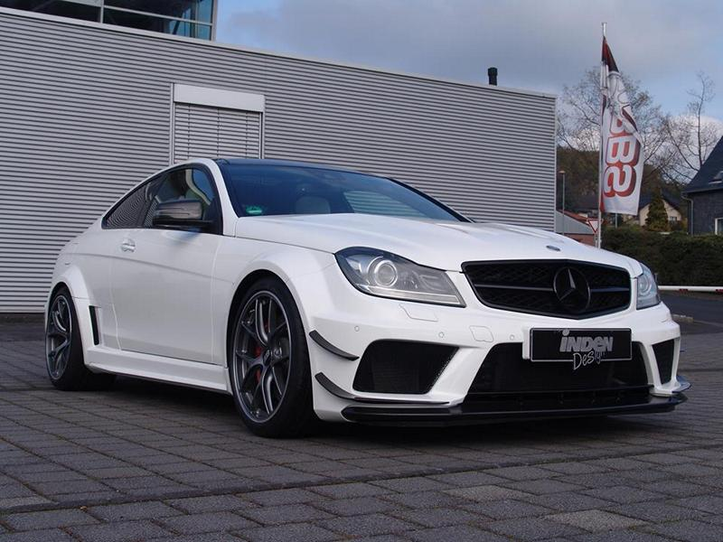 Mercedes Benz C 63 AMG W204 Black Series Tuning 3 Perfekt   Mercedes Benz C 63 AMG W204 von Inden Design