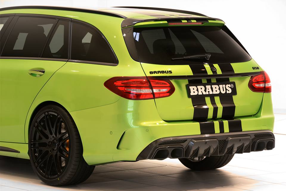 Also known as TModel Monster  Mercedes C63 AMG BRABUS 650