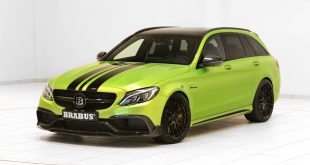 Mercedes Benz C63 AMG S205 T Modell Tuning 2017 8 310x165 Auch als T Modell Monster   Mercedes C63 AMG als BRABUS 650