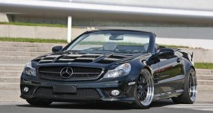 Mercedes Benz SL 500 R230 Tuning SL65 AMG 6 310x165 Mercedes Benz SL R230 mit SR66.1 Design Widebody Kit