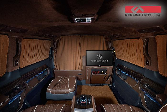 mercedes benz v klasse 2017 by redline engineering. Black Bedroom Furniture Sets. Home Design Ideas