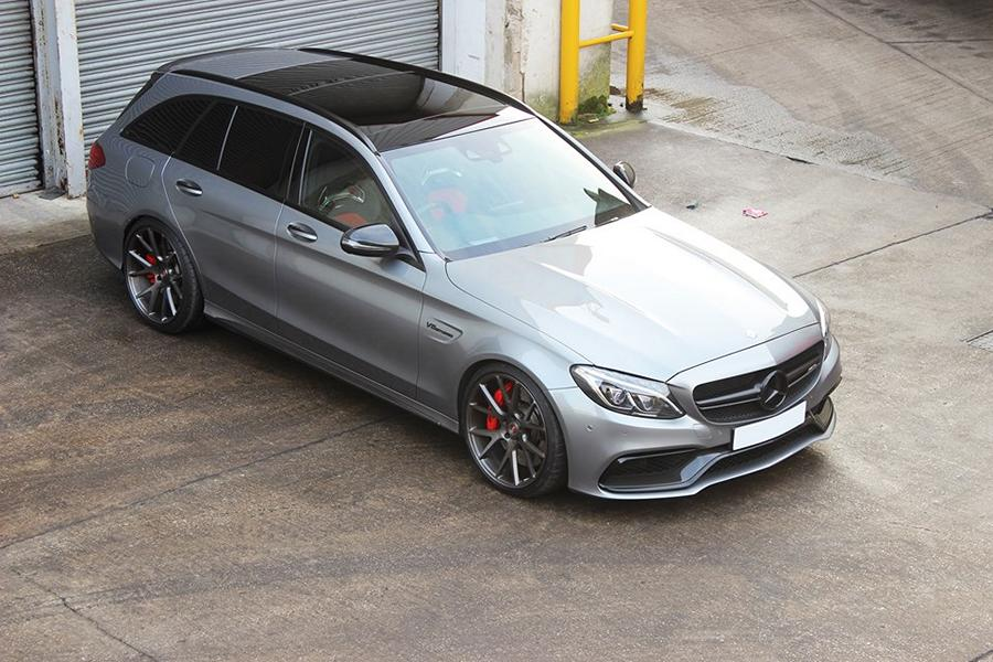 mercedes c63 amg t modell w205 tuning vossen wheels vps. Black Bedroom Furniture Sets. Home Design Ideas