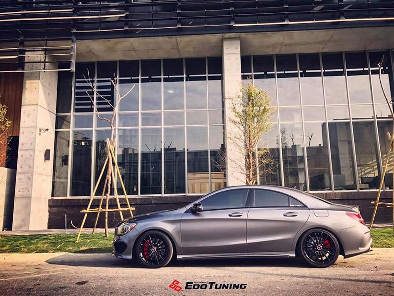Mercedes CLA250 Tuning A45 AMG Style 1 Dezent anders   Mercedes CLA250 vom Tuner EDO Tuning