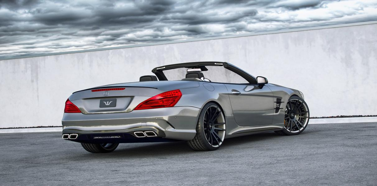 Mercedes SL63 AMG BIG Bank Tuning 1 792PS Mercedes SL63 AMG auf 21 Zoll FiveStar Felgen by WAM