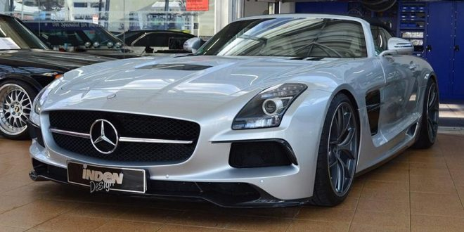 630PS im Mercedes SLS AMG Roadster von Inden Design