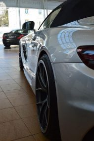 Mercedes SLS AMG Roadster R197 Tuning BBS 11 190x286 Mercedes SLS AMG Black Series Roadster & Coupe von Inden Design