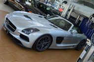 Mercedes SLS AMG Roadster R197 Tuning BBS 2 190x126 Mercedes SLS AMG Black Series Roadster & Coupe von Inden Design