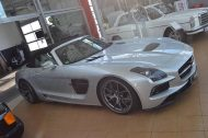 Mercedes SLS AMG Roadster R197 Tuning BBS 3 190x126 Mercedes SLS AMG Black Series Roadster & Coupe von Inden Design