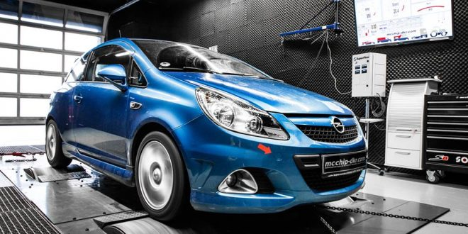 Opel Corsa Opc 1 6 Turbo Mit 218ps Amp 284nm By Mcchip