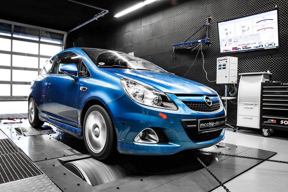 Opel Corsa OPC 1.6 Turbo chiptuning 4 Opel Corsa OPC 1.6 Turbo mit 218PS & 284NM by Mcchip