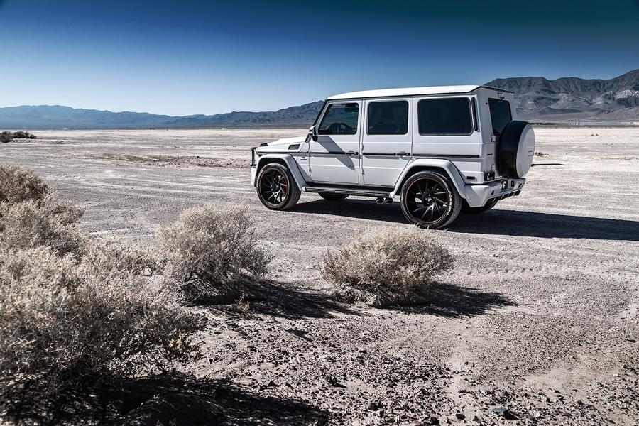 Prior Design Widebody Mercedes G63 AMG Tuning Forgiato Wheels 11 G Offensive   2 x Mercedes G Klasse auf Forgiato Wheels