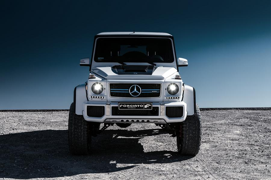 Prior Design Widebody Mercedes G63 AMG Tuning Forgiato Wheels 8 G Offensive   2 x Mercedes G Klasse auf Forgiato Wheels