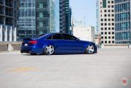 RS6 Optik Audi A6 Tuning Vossen VPS 318 6 190x128 RS6 Optik am blauen Audi A6 mit Vossen VPS 318 Felgen