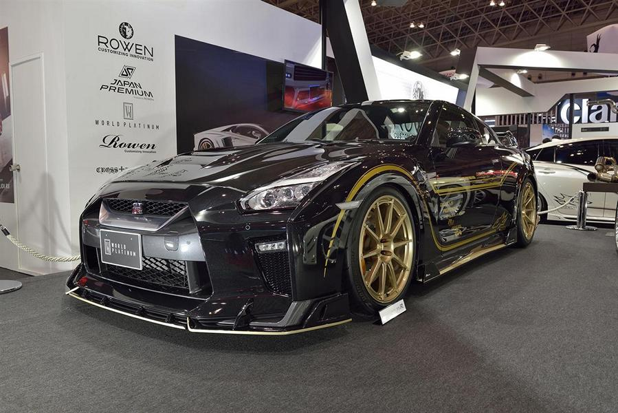 rowen international nissan r35 gt r modell 2017 bodykit. Black Bedroom Furniture Sets. Home Design Ideas