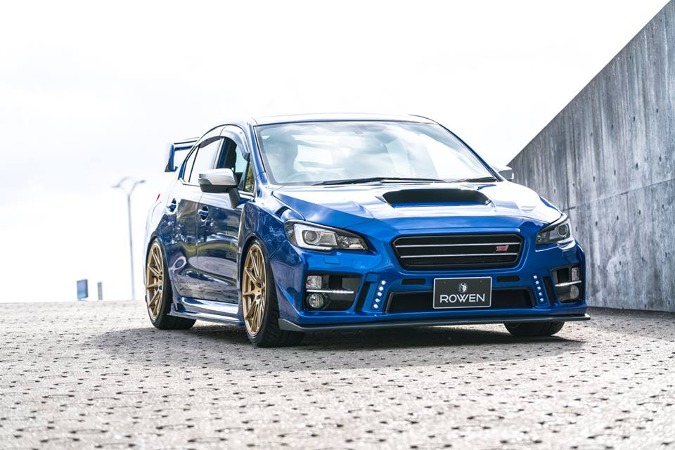 rowen international body kit on the subaru wrx sti. Black Bedroom Furniture Sets. Home Design Ideas
