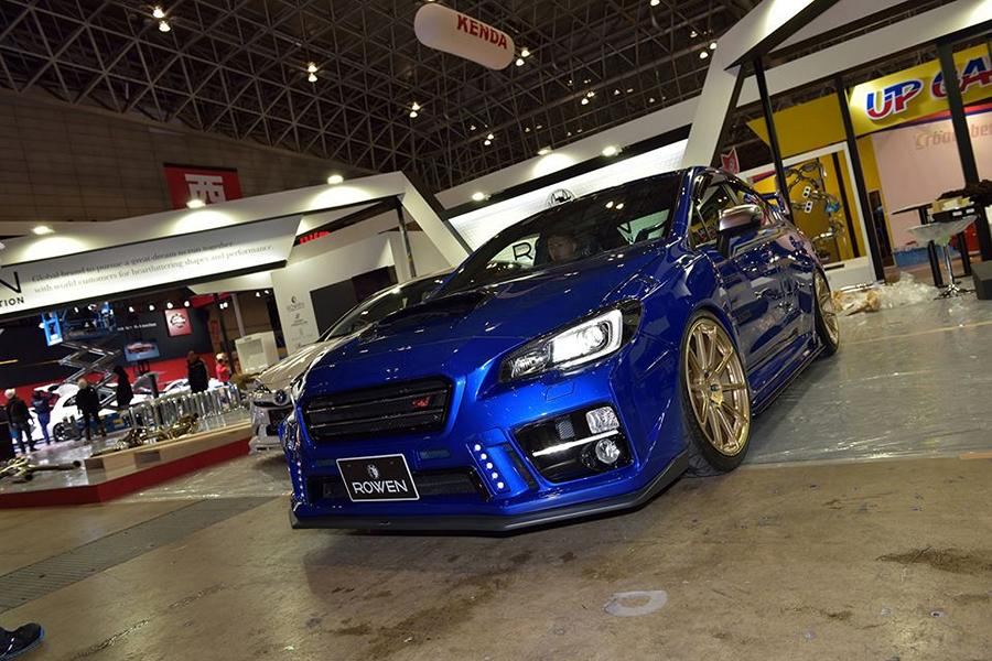 Rowen international Bodykit Subaru WRX STI 2017 Tuning 14 Rowen International Bodykit am Subaru WRX STi