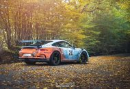 "The GULF Livery Project Porsche 991 GT3 RS Tuning 16 190x130 ""The GULF Livery Project""   einzigartiger Porsche 991 GT3 RS"