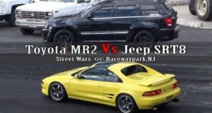 Toyota MR2 gegen Jeep SRT8 2 310x165 Video: Dragrace   Toyota MR2 gegen Jeep SRT8