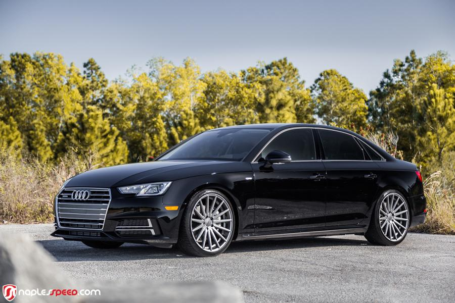 Audi A4 B9 Sedan On Vossen Wheels Alloy Wheels Vfs2