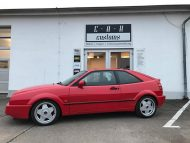 VW Corrado Borbet A Felgen Tuning EAH Customs 1 190x143 Klassiker   VW Corrado mit Borbet A Felgen by EAH Customs