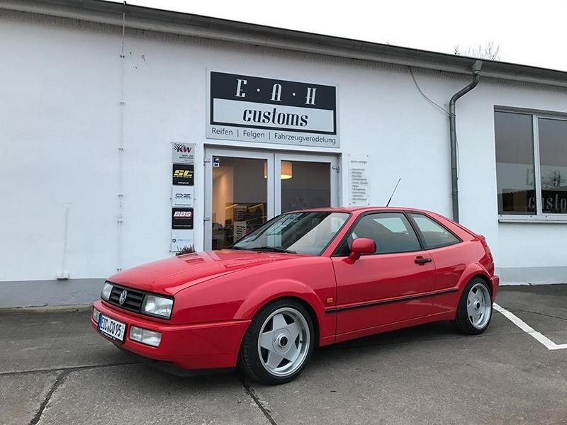 VW Corrado Borbet A Felgen Tuning EAH Customs 2 Klassiker   VW Corrado mit Borbet A Felgen by EAH Customs