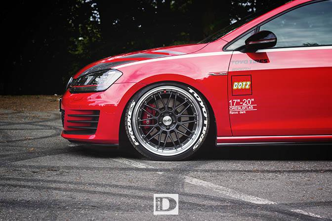 vw golf gti performance dotz tuning 6 magazin. Black Bedroom Furniture Sets. Home Design Ideas