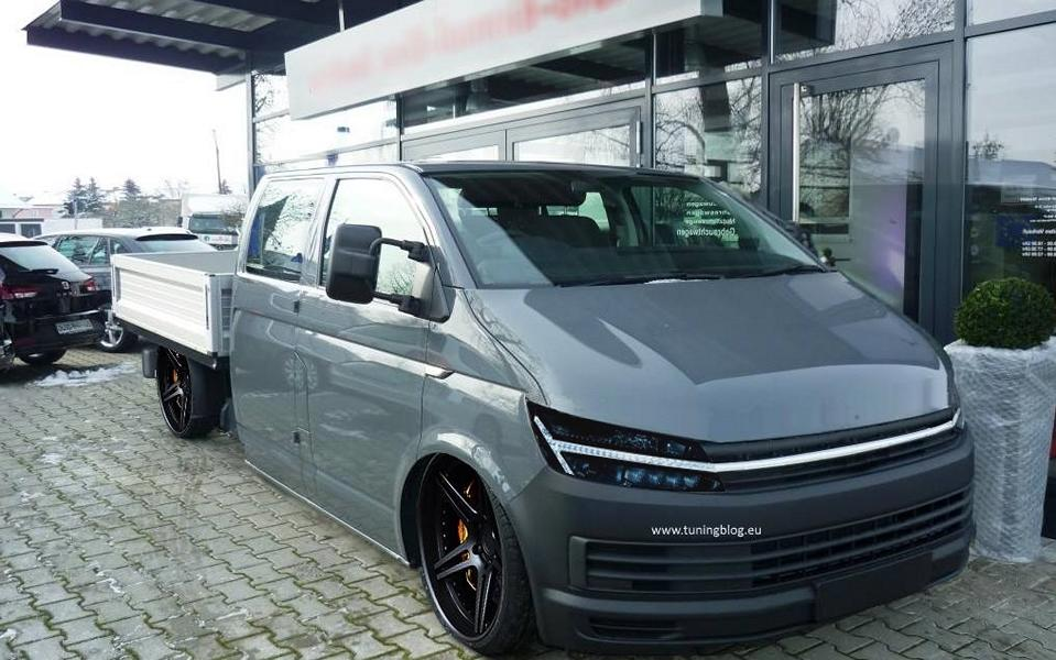 deep impractical vw transporter t6 tuning open. Black Bedroom Furniture Sets. Home Design Ideas